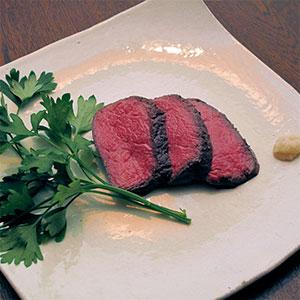 エゾシカ肉のロースト(Roast Venison)